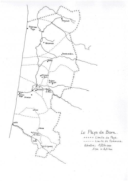 País de Bòrn Comunas